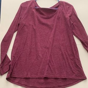 Plum Pink Long Sleeve
